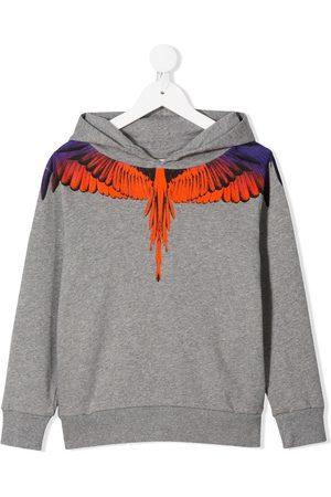 MARCELO BURLON Wings printed pullover hoodie