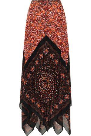 Altuzarra Women Maxi Skirts - Hance floral silk maxi skirt