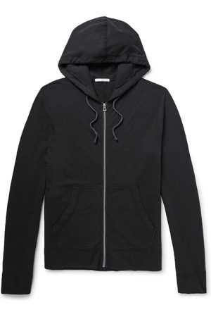 James Perse Men Sweatshirts - Supima Cotton-Jersey Hoodie