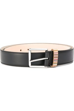 Paul Smith Slim-fit buckled belt