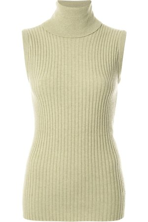 Chanel Pre-Owned 1993 ribbed knitted top