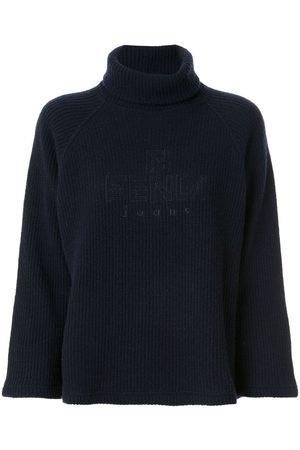 Fendi Pre-Owned Turtleneck ribbed jumper