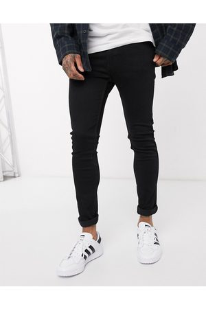 Levi's Youth 519 super skinny fit hi-ball roll jeans in stylo advanced stretch