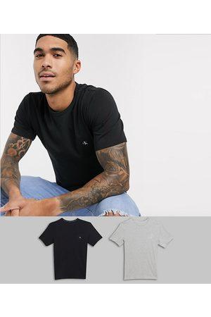Calvin Klein CK One 2 pack logo crew neck lounge t-shirts