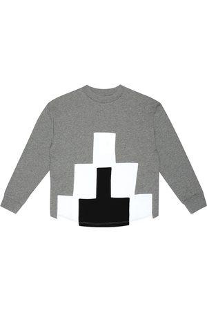 Marcelo Burlon Kids of Milan Cotton-blend sweater