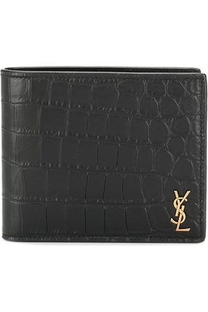 Saint Laurent Monogram embossed bi-fold wallet