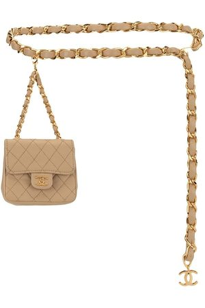 CHANEL Mini quilted belt bag