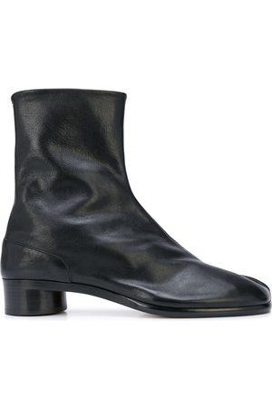 Maison Margiela Low heel leather Tabi boots