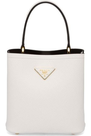 Prada Women Tote Bags - Small Panier tote bag