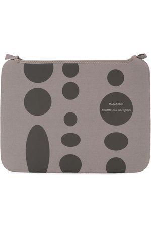 Comme des Garçons X Côte & Ciel polka dot laptop case