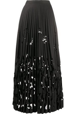 ROMEO GIGLI Women Pleated Skirts - 1990s cut-out pleated skirt
