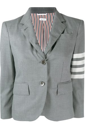 Thom Browne 4 bar engineered classic plain weave sport coat