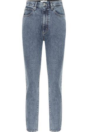 SLVRLAKE Beatnik high-rise slim ankle jeans