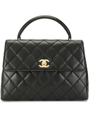 CHANEL 1998 diamond quilted flap tote