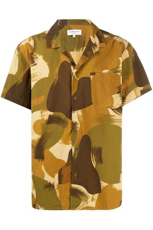 YMC Camouflage casual shirt