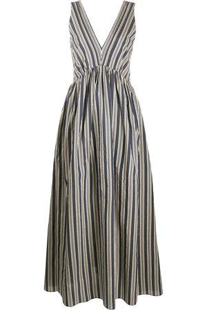 Brunello Cucinelli Striped maxi dress