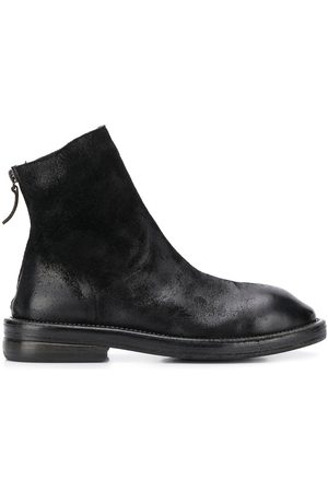 MARSÈLL Chunky block 35mm heel ankle boots