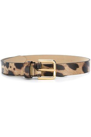 Dolce & Gabbana Kids Leopard-print belt