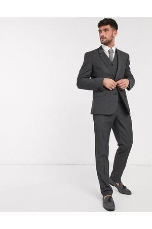 ASOS Men Skinny Pants - Slim suit trousers in charcoal