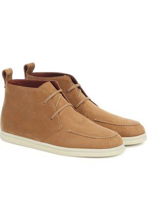 Loro Piana Namib Walk suede boots