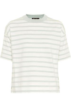 Loro Piana Striped cotton T-shirt