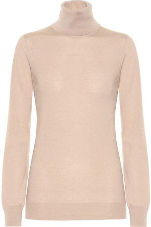 Loro Piana Women Turtlenecks - Piuma cashmere turtleneck sweater