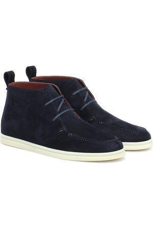 Loro Piana Women Boots - Namib Walk suede boots