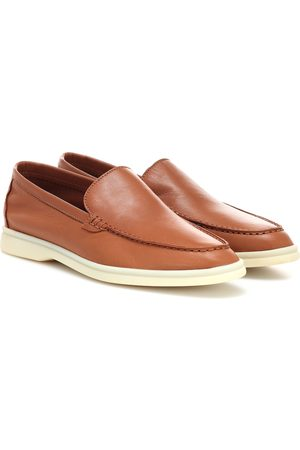 Loro Piana Women Loafers - Summer Charms Walk leather loafers