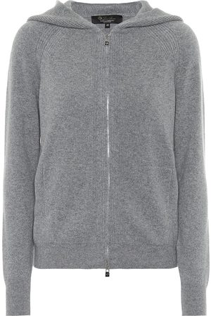 Loro Piana Women Hoodies - Merano cashmere hoodie