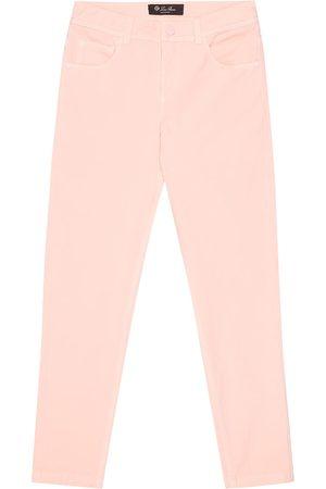 Loro Piana Girls Skinny - Mathias stretch-cotton skinny jeans