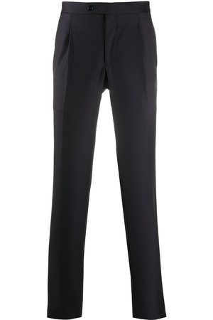 DELL'OGLIO Men Formal Pants - Straight-leg tailored trousers