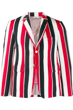 Thom Browne Men Blazers - Striped blazer jacket