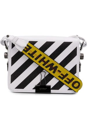OFF-WHITE Diagonal stripe crossbody bag