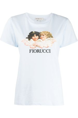 Fiorucci Women Short Sleeve - Vintage Angels T-Shirt