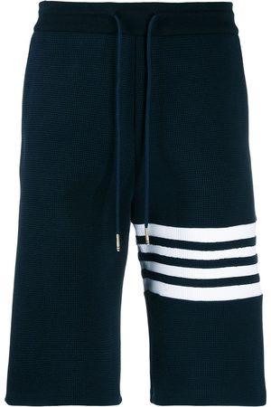 Thom Browne Men Sports Shorts - 4-Bar Sweatshorts