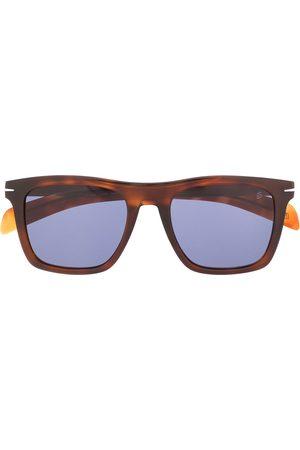 DAVID BECKHAM EYEWEAR Rectangular frame sunglasses