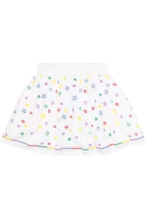 Stella McCartney Printed cotton skirt