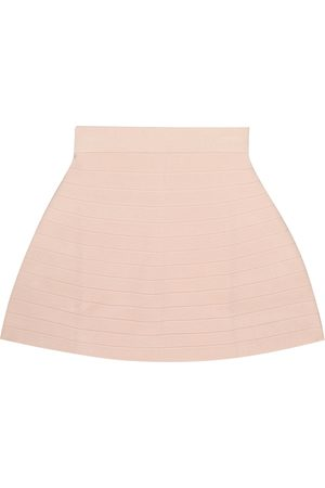 Emporio Armani Ribbed-knit skirt
