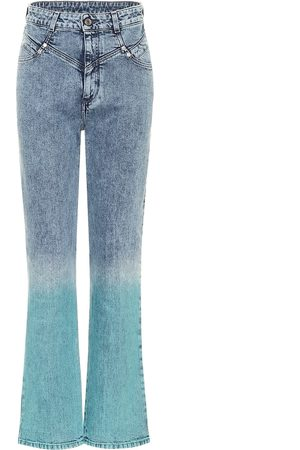 Stella McCartney Gradient high-rise straight jeans
