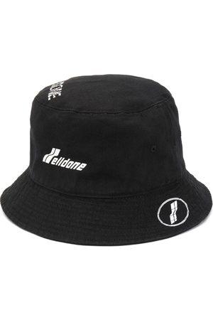 We11 Done Logo-print bucket hat