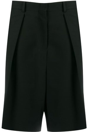 Ami Paris Pleated bermuda shorts