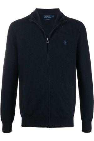 Polo Ralph Lauren Zip through pique cotton jumper