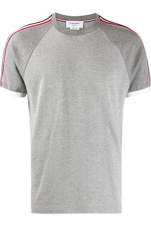 Thom Browne Piqué Short Raglan Sleeve T-shirt