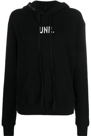 Unravel Project Knitted logo hoodie