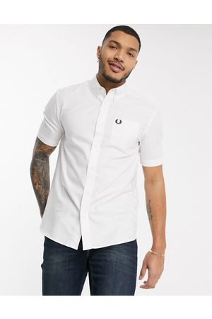 Fred Perry Short sleeve oxford shirt in
