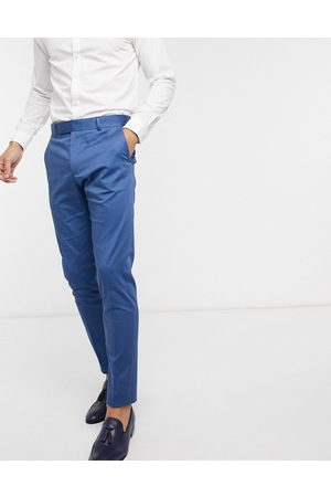 ASOS Men Skinny Pants - Wedding skinny suit trousers in stretch cotton