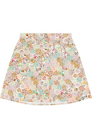 BONPOINT Floral cotton skirt