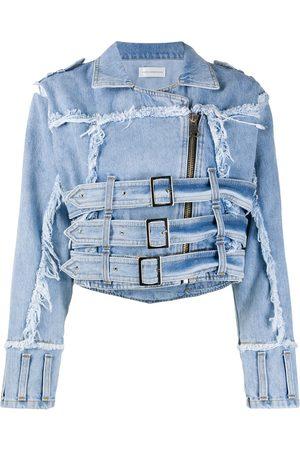 FAITH CONNEXION Distressed effect denim jacket
