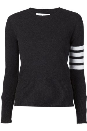 Thom Browne Striped sleeve sweater