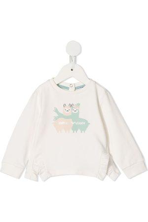Emporio Armani Llama print sweatshirt